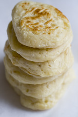 crumpets for breakfast (dive-angel (Karin)) Tags: breakfast recipe yummy sweet salty crumpet canon100mm eos400d