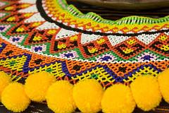 Malaysian Beading (wycombiensian) Tags: newmexico santafe folkart market international