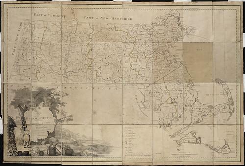 Map of Massachusetts proper