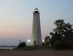 New Haven Lighthouse (with history)