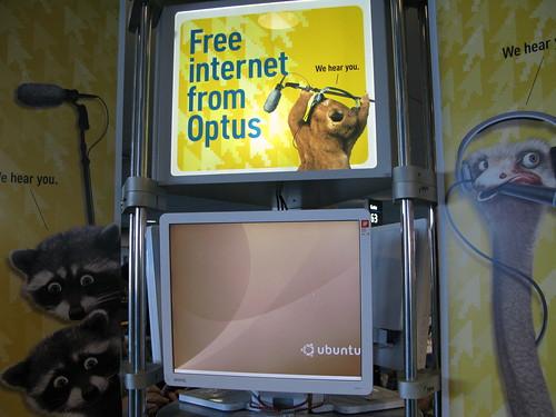 Linux @ Sydney Airport