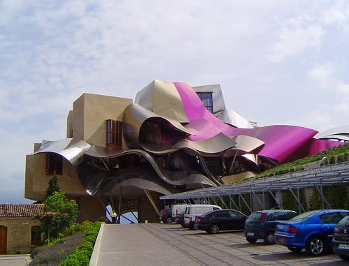 HOTEL EN BODEGAS MARQUÉS DE RISCAL, EL CIEGO, ÁLAVA, SPAIN