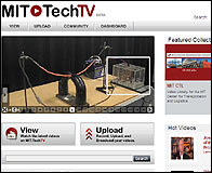 La web MIT Tech TV