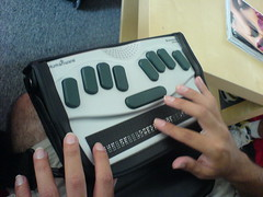 Braille PDA (by Humanware)