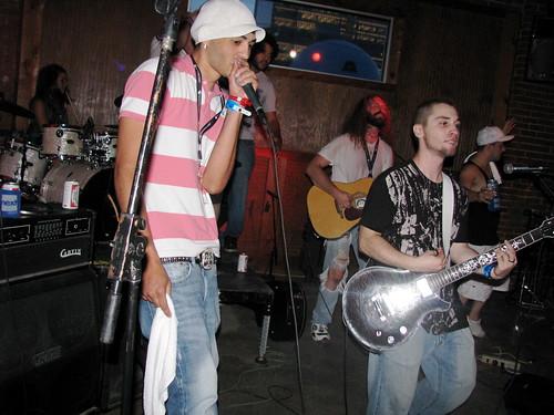 P.D.A. performing w/ Kawnar - Dfest 2008