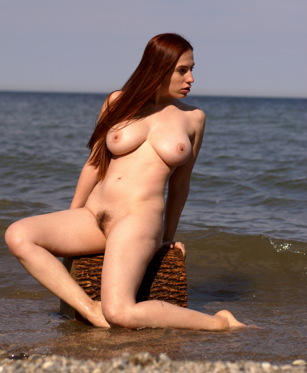 Girls beach naked
