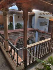 Palacio Mondragón Court Yard, Ronda (Vinco DeCuir) Tags: geotagged spain andalucia ronda andalusia malaga hdr canonpowershots80 palaciomondragón