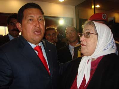 Hebita con Chavez