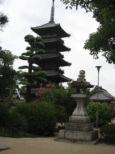 五重塔のあるお寺