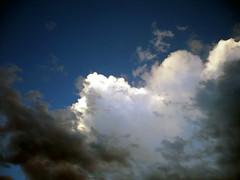 Just Clouds (buzzt) Tags: blue sky white storm black color colour weather azul clouds germany deutschland negro himmel wolken colores ceiling blau dsseldorf weiss schwarz duesseldorf wetter azur ih farben sturm justclouds hiwosomoshots platinumphoto skytheme