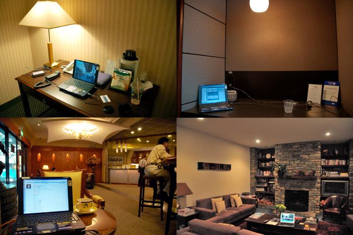 國外飯店與機場貴賓室中的VAIO