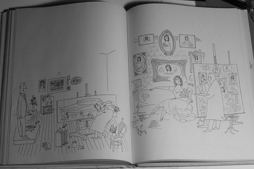 THE ART OF LIVING by Saul Steinberg