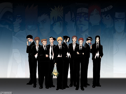 Naruto boys (all dress up)