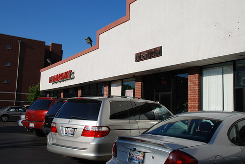 The strip mall where urban belly lives