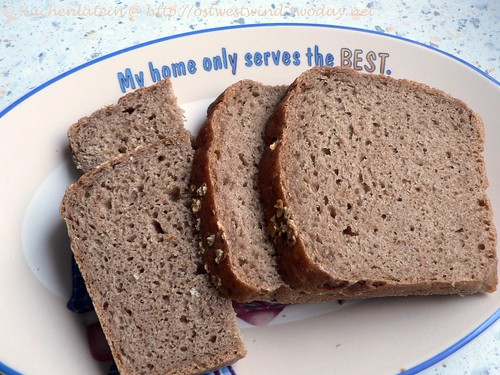 ©Whole Grain Oatmeal Bread 002