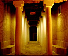 The Six Pairs (Waseef Akhtar) Tags: light dark way sony horror pairs dreamy pillars six riyadh saudiarabia ksa sonydscs650
