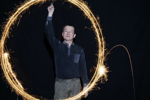 Long exposure - Sparklers and flash (1)