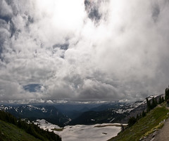 Mt_Rainier_6170-Edit (absencesix) Tags: travel sky panorama snow mountains nature weather clouds iso100 washington nationalpark unitedstates july noflash mountrainiernationalpark northamerica 1020mm 2008 locations locale verticalstitch 10mm manualmode canoneos30d geocity camera:make=canon exif:make=canon exif:iso_speed=100 july262008 hasmetastyletag naturallocale summer2008travel selfrating4stars exif:focal_length=10mm 1250secatf16 geostate geocountrys exif:lens=100200mm exif:model=canoneos30d camera:model=canoneos30d exif:aperture=16 subjectdistanceunknown mountrainierwa07262008