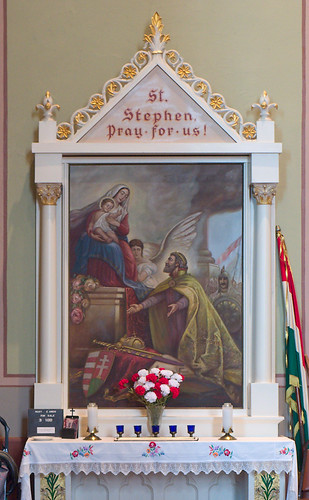 Saint Mary of Victories Chapel, in Saint Louis, Missouri, USA - shrine of King Stephen of Hungary