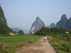 DSC08056 (irishtravel) Tags: china locals yangshuo hills roads karst motorbikes guangxi