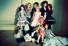 MY ENTIRE DOLL FAMILY! <333333 (nettness) Tags: georgia toy toys anne virginia gideon doll dolls purple tony greeneyes matilda wig bjd f22 dollfie superdollfie volks sd10 pinkhair abjd pinkeyes abigale kun arttoy brownhair arttoys balljointeddoll balljointdoll sd13 schoolb yosd schb pureskin schoolc suiseiseki souseiseki schc normalskin schoolheadb suwaricco rabiruna victorgideon classroomheadb