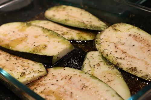 marinating eeplant