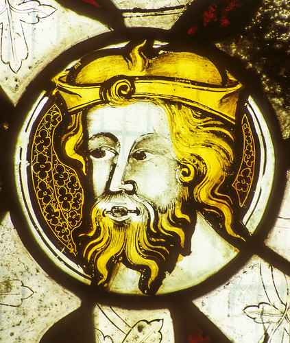 Madley, Nativity of the BVM, I, 2b, Detail of head