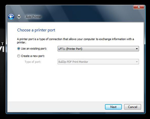 Installing OneNote Printer