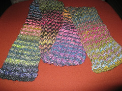 noro striped scarf finished