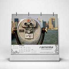 calendar (raminka) Tags: design graphics calendar september diseño branding