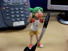 Secret #3: Feeling (Pamela N!) Tags: toys yotsuba revoltech