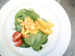 mango and papaya salad (exploitedaffections) Tags: salad mango