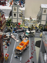 Zombie Apocafest 2008 - Street view (Dunechaser) Tags: lego zombie events valve displays undead zombies tbb brickcon brickarms thebrothersbrick brothersbrickcom brickcon2008 brickcon08 apocafest