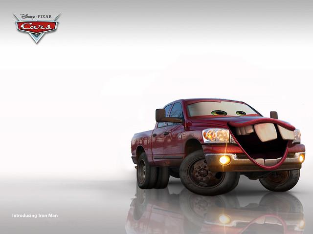 cars truck diesel ironman mater disney pixar dodge ram cummins