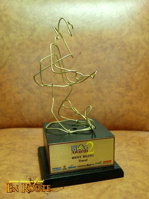 Philippine Blog Awards 2 - Best Travel