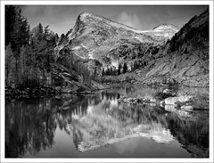 5565. [duotone]. (koaflashboy) Tags: autumn colour washington jpeg larches canong2 littleannapurna theenchantments perfectionlake enchantments08