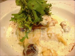 COD FISH AND CREAM SAUCE