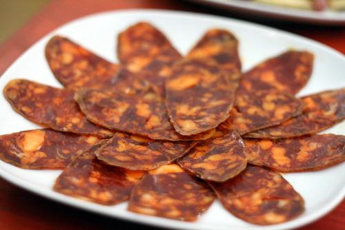 Assiette de Chorizo