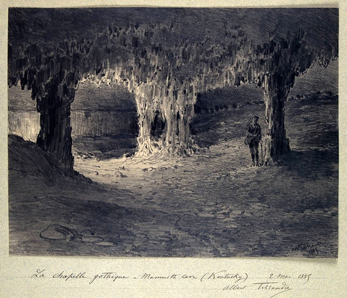 06- Gruta del Mamut - Capilla gotica- kentucky 1885