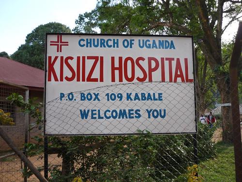 Kisiizi hospital entrance