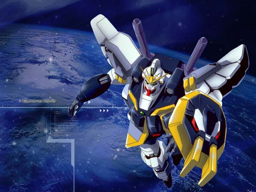Gundam Wing Free Hd Wallpaper 354