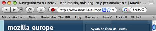 Captura de pantalla de Mozilla Firefox