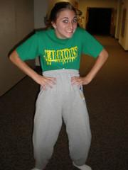 shawty (emma-lemma) Tags: girl short warriors sweatpants shawty
