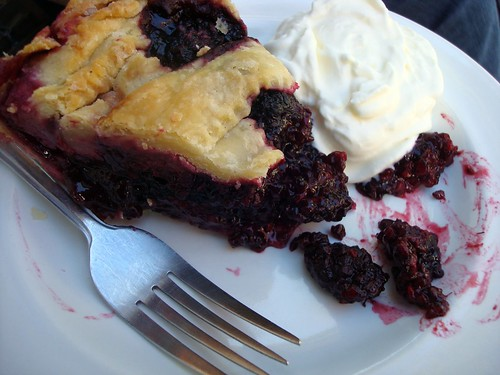 Marionberry pie, Irwin's Coffee and Bakery