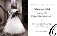 Debutante Ball Invitation