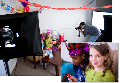 Behind the Scenes - Birthday Party Photo Shoot