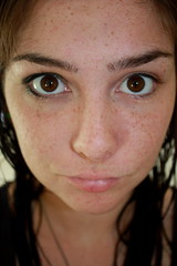 122.365 half unmade, (ashley rose,) Tags: eyes perfect pretty yes makeup gross ugly half freckles 365 beeb ew naturally uhm 365days ashleyrose canonrebelxsi ashleyrosex umwaitno hahawaitno