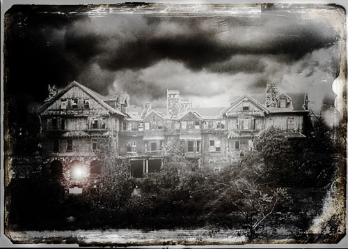 a haunted place....