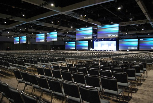 6500 seat Keynote Hall by Nick Lansley.
