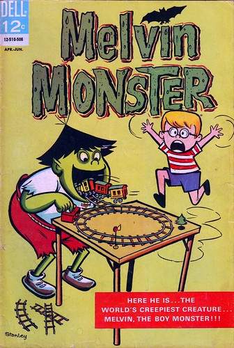 Melvin the Monster (1965) (by senses working overtime)